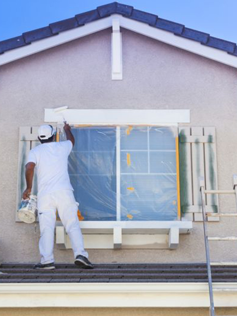 Painter Exterior Painting Home